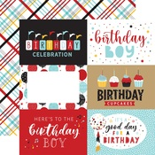 6x4 Journaling Cards Paper - Magical Birthday Boy - Echo Park - PRE ORDER