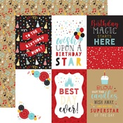 4x6 Journaling Cards Paper - Magical Birthday Boy - Echo Park - PRE ORDER