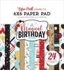 Magical Birthday Boy 6x6 Paper Pad - Echo Park