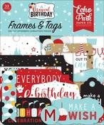 Magical Birthday Boy Frames & Tags - Echo Park - PRE ORDER