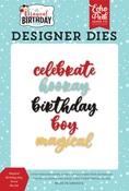 Magical Birthday Boy Word Die Set - Echo Park - PRE ORDER