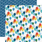 Bunches Of Balloons Paper - Let's Celebrate - Carta Bella - PRE ORDER