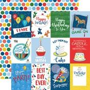 3X4 Journaling Cards Paper - Let's Celebrate - Carta Bella - PRE ORDER