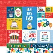 Journaling Cards Paper - Let's Celebrate - Carta Bella - PRE ORDER