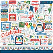 Let's Celebrate Element Sticker - Carta Bella - PRE ORDER