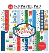 Let's Celebrate 6x6 Paper Pad - Carta Bella - PRE ORDER