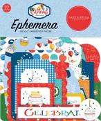Let's Celebrate Ephemera - Carta Bella - PRE ORDER