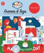 Let's Celebrate Frames & Tags - Carta Bella - PRE ORDER