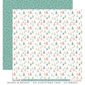 Oh Christmas Tree Paper - Merry & Bright - Cocoa Vanilla Studio - PRE ORDER
