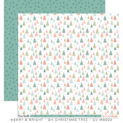 Oh Christmas Tree Paper - Merry & Bright - Cocoa Vanilla Studio