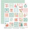 Countdown Paper - Merry & Bright - Cocoa Vanilla Studio