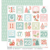 Countdown Paper - Merry & Bright - Cocoa Vanilla Studio