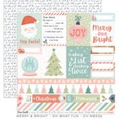Oh What Fun Paper - Merry & Bright - Cocoa Vanilla Studio - PRE ORDER