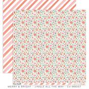 Jingle All The Way Paper - Merry & Bright - Cocoa Vanilla Studio