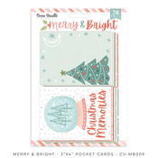 Merry & Bright Pocket Cards - Cocoa Vanilla Studio