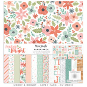 Merry & Bright 12x12 Paper Pack - Cocoa Vanilla Studio