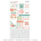 Merry & Bright Accessory Stickers - Cocoa Vanilla Studio - PRE ORDER