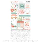 Merry & Bright Accessory Stickers - Cocoa Vanilla Studio