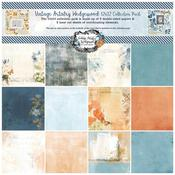Vintage Artistry Wedgewood 12x12 Collection Pack - 49 And Market