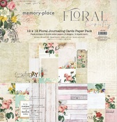 Floral Tapestry Journaling Cards 12x12 Collection Pack - Memory Place - PRE ORDER