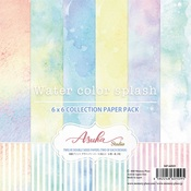 Watercolor Splash 6x6 Collection Pack - Asuka Studio - PRE ORDER