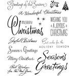 Christmastime #3 Cling Stamp  - Tim Holtz - PRE ORDER