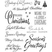 Christmastime #3 Cling Stamp  - Tim Holtz