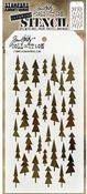 Tree Lot Layered Stencil - Tim Holtz - PRE ORDER