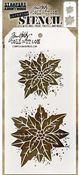 Poinsettia Due Layered Stencil - Tim Holtz - PRE ORDER