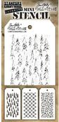 Set #50 - Mini Layered Stencil Set - Tim Holtz - PRE ORDER