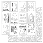 Color Me Paper - Dog Lover - Photoplay