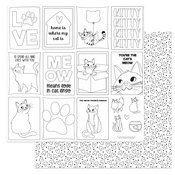 Color Me Paper - Cat Lover - Photoplay - PRE ORDER