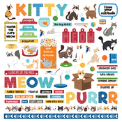 Cat Lover Element Sticker - Photoplay - PRE ORDER