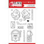 Love Letters Stamp Set - Photoplay