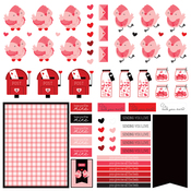 Dies Paper - Love Letters - Photoplay - PRE ORDER
