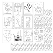 Color Me Paper - Love Letters - Photoplay - PRE ORDER