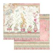 Vases Paper - Orchids & Cats - Stamperia - PRE ORDER