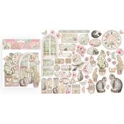 Orchids & Cats Die-Cuts - Stamperia - PRE ORDER