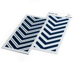 Double Chevron Layering Stencil Set - Pinkfresh Studio