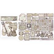 Calligraphy Die-Cuts - Stamperia - PRE ORDER