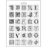 Alphabet Soft Maxi Mould  - Stamperia