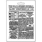 The Wall Street Journal Soft Maxi Mould A5 - Stamperia - PRE ORDER
