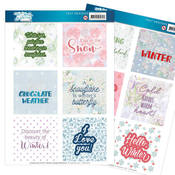 The Colours Of Winter Text Designs - Find It Trading