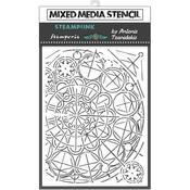 Geometry Stencil 5.90x7.87 - Stamperia - PRE ORDER