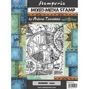 Mechanism Cling Stamp 5.90x7.87 - Stamperia - PRE ORDER