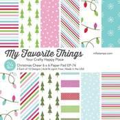 Christmas Cheer 6x6 Paper Pad - My Favorite Things - PRE ORDER