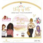 Own Kind Of Beautiful Mini Sticker Book - This Is Us - Paper House