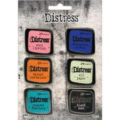 Set 4 - Tim Holtz Distress Enamel Collector Pins