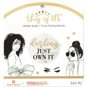 Glamorous Girls Mini Sticker Book - This Is Us - Paper House