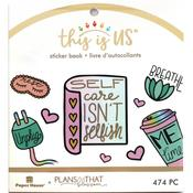 Pastel Self Care Mini Sticker Book - This Is Us - Paper House